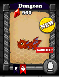 DragonVale Dungeon Dragon Baby