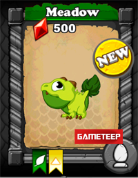 DragonVale Meadow Dragon