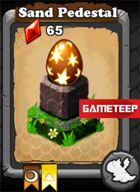 DragonVale Sand Dragon egg