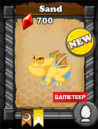 DragonVale Sand Dragon