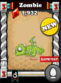DragonVale Zombie Dragon