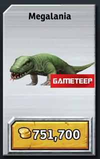 Jurassic Park Builder - Megalania