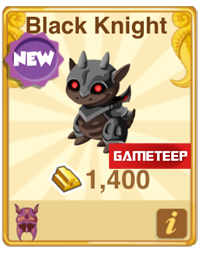 Dragon Story Black Knight Dragon