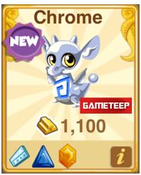 Dragon Story Chrome Dragon