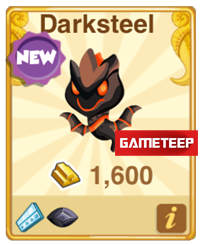 Dragon Story Darksteel Dragon