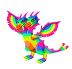 Dragon Story Double Rainbow Dragon Adult