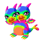Dragon Story Double Rainbow Dragon Teen