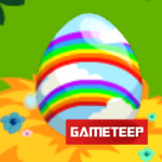 Dragon Story Double Rainbow Dragon egg