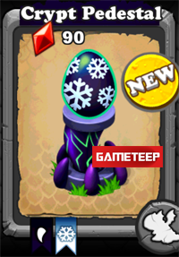 DragonVale Crypt Dragon egg