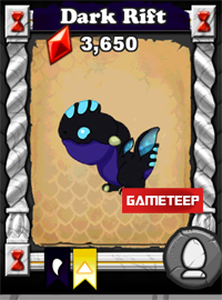 DragonVale Dark Rift Dragon