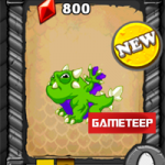 DragonVale: Hulk Gamma & Flash Dragon + 2 Light Dragons