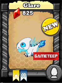 DragonVale Glare Dragon