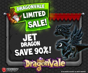 DragonVale Official Promotion Jet Dragon