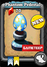 DragonVale Phantom Dragon egg