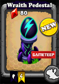DragonVale Wraith Dragon egg