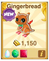 Dragon Story Gingerbread Dragon