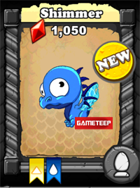 DragonVale Shimmer Dragon