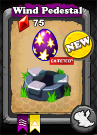 DragonVale Wind Dragon egg