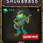 My Singing Monsters: Shugabass Monster