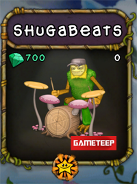 My Singing Monsters Shugabeats Monster
