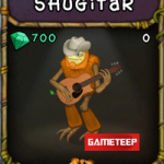 My Singing Monsters: Shugitar Monster