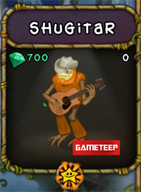 My Singing Monsters Shugitar Monster