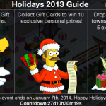 The Simpsons: Tapped Out Christmas 2013 Update