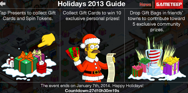 Tapped Out - Presents for Items
