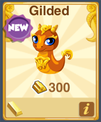 Dragon Story Gilded Dragon