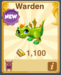 Dragon Story Warden Dragon