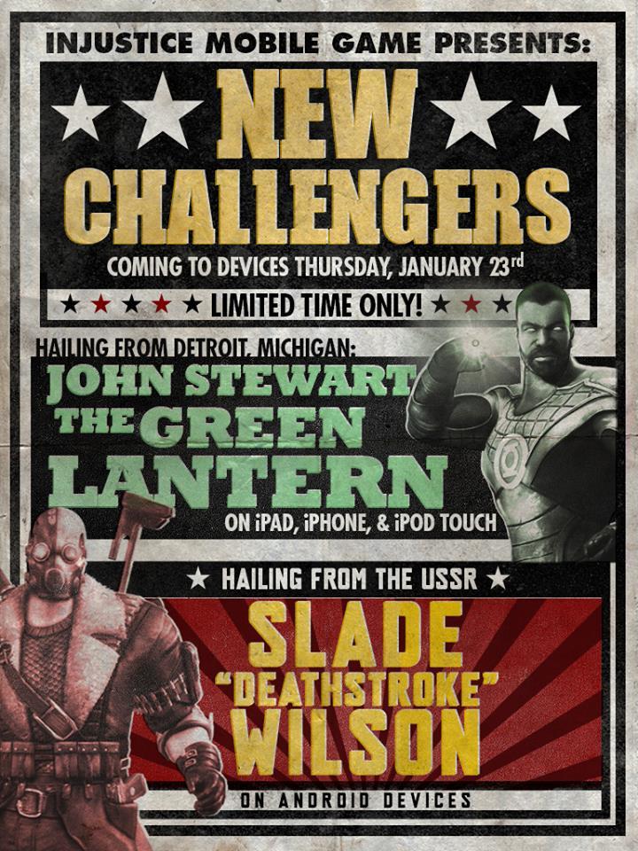 Injustice Challenge John Stewart Green LAntern