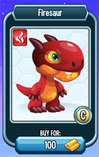 Monster Legends - Firesaur