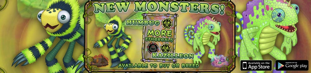 My Singing Monsters Humbug Monster Banner