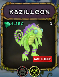 My Singing Monsters Kazilleon Monster