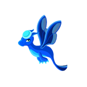 Dragon Story Blue Moon Dragon Teen