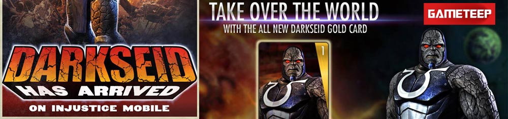 Injustice Gods Among Us Darkseid Banner