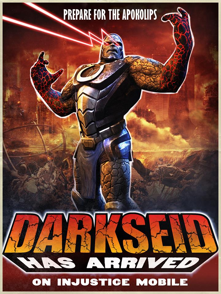 Injustice Gods Among Us Darkseid Released