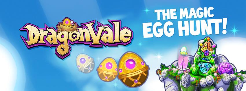 DragonVale New Easter Ovalith Drago Banner