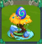 Dragon Story Triple Rainbow Egg