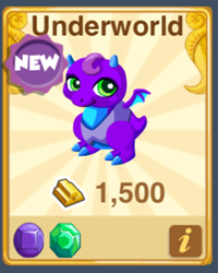 Dragon Story: Underworld Dragon