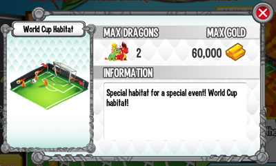 Dragon City World Cup Island Habitat