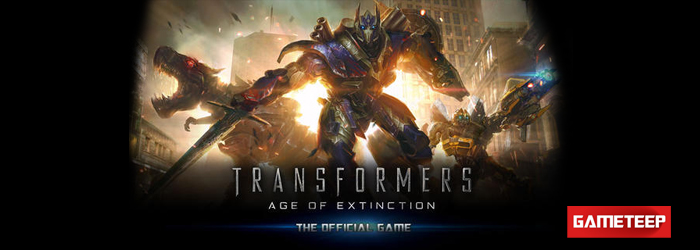TRANSFORMERS AGE OF EXTINCTION Game screen