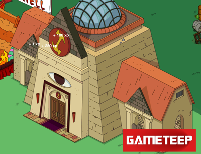 The Simpsons Tapped Out Stonecutter Lodge