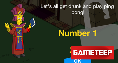 The Simpsons Tapped Out Stonecutter Number 1