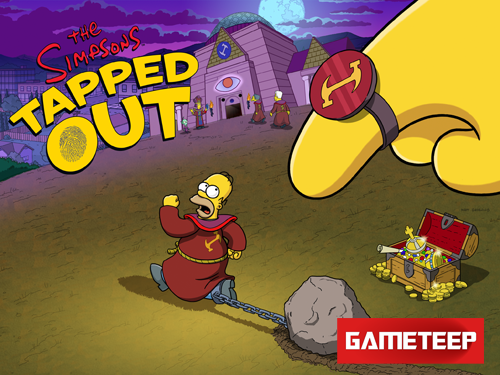 The Simpsons Tapped Out Stonecutter Splash Screen