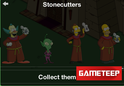 The Simpsons Tapped Out Stonecutters