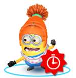 Despicable Me Minion Rush - Lucy Costume icon