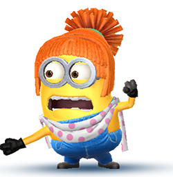 Despicable Me Minion Rush - Lucy Costume