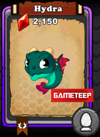 DragonVale Hydra Dragon
