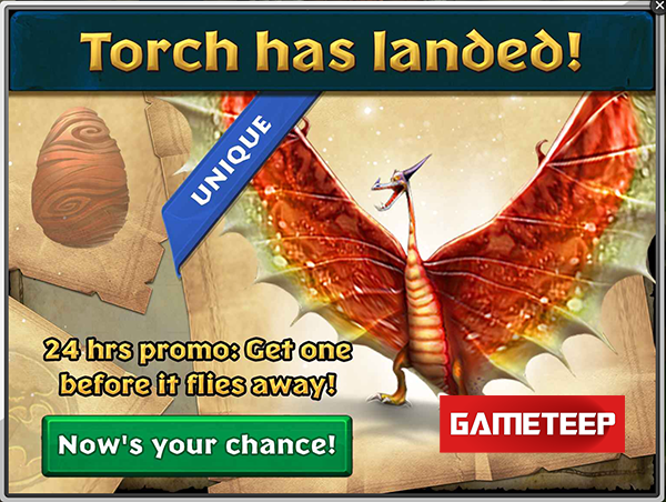 Dragons Rise of Berk - Torch Returns 24 Hours